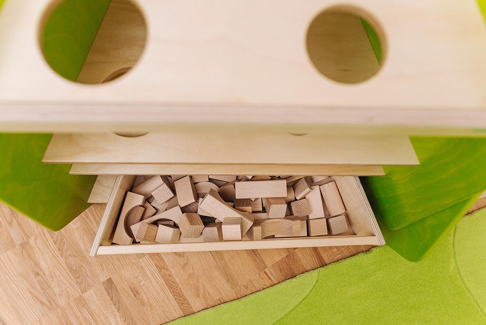 Grünes Haus | Detail-Bausteine
