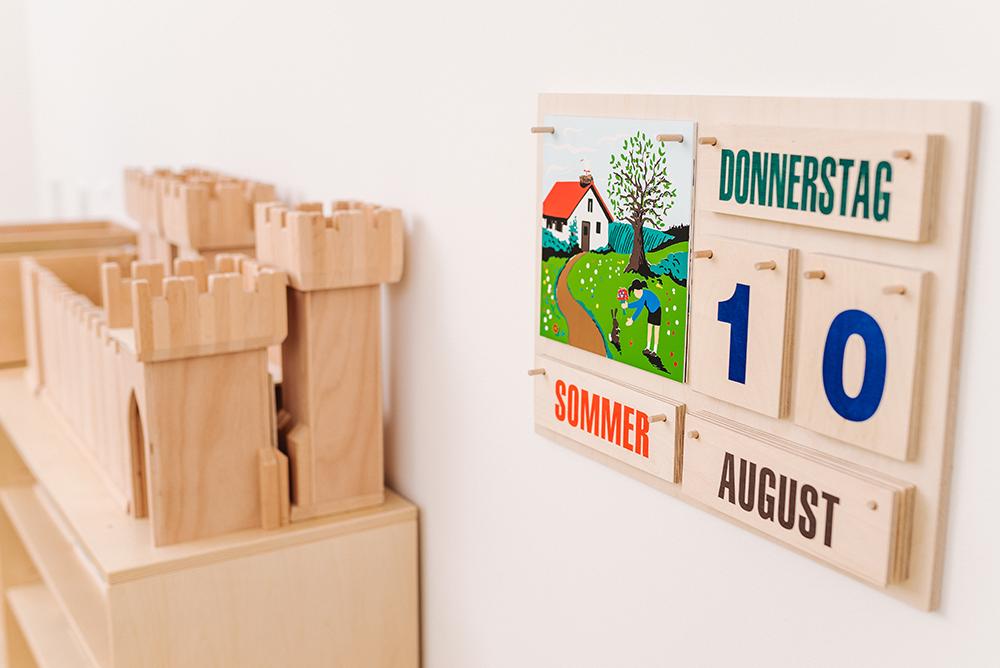 Grünes Haus | Detail-Kalender