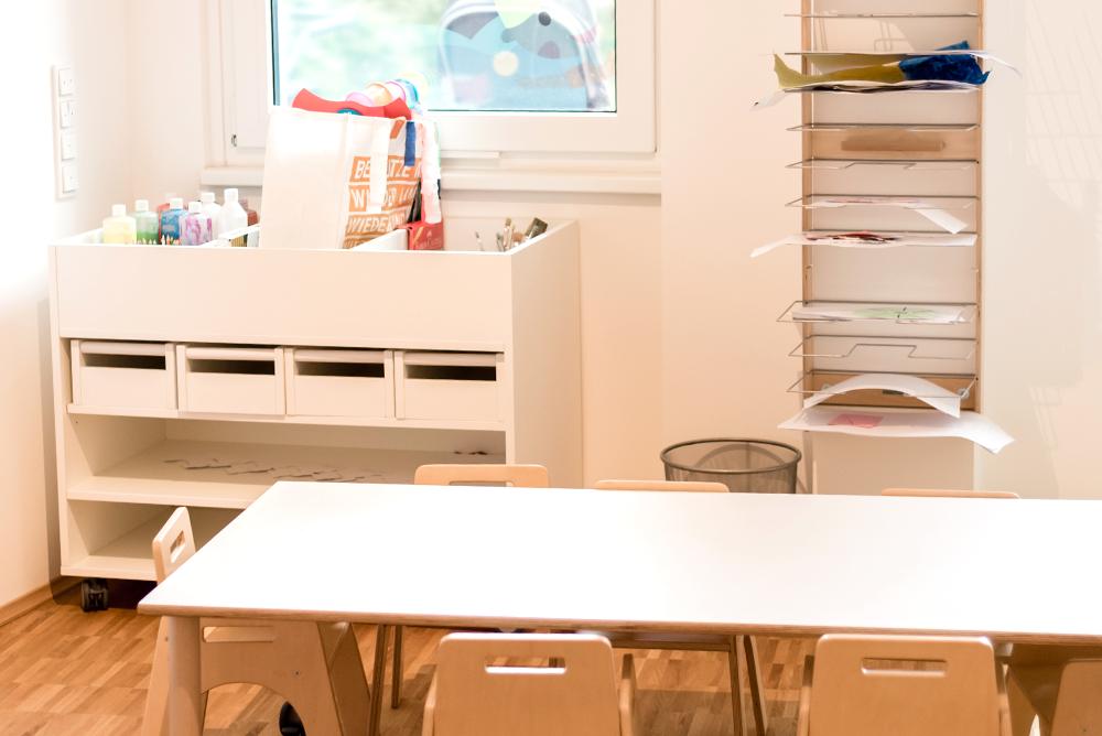 Lila Haus | Atelierraum