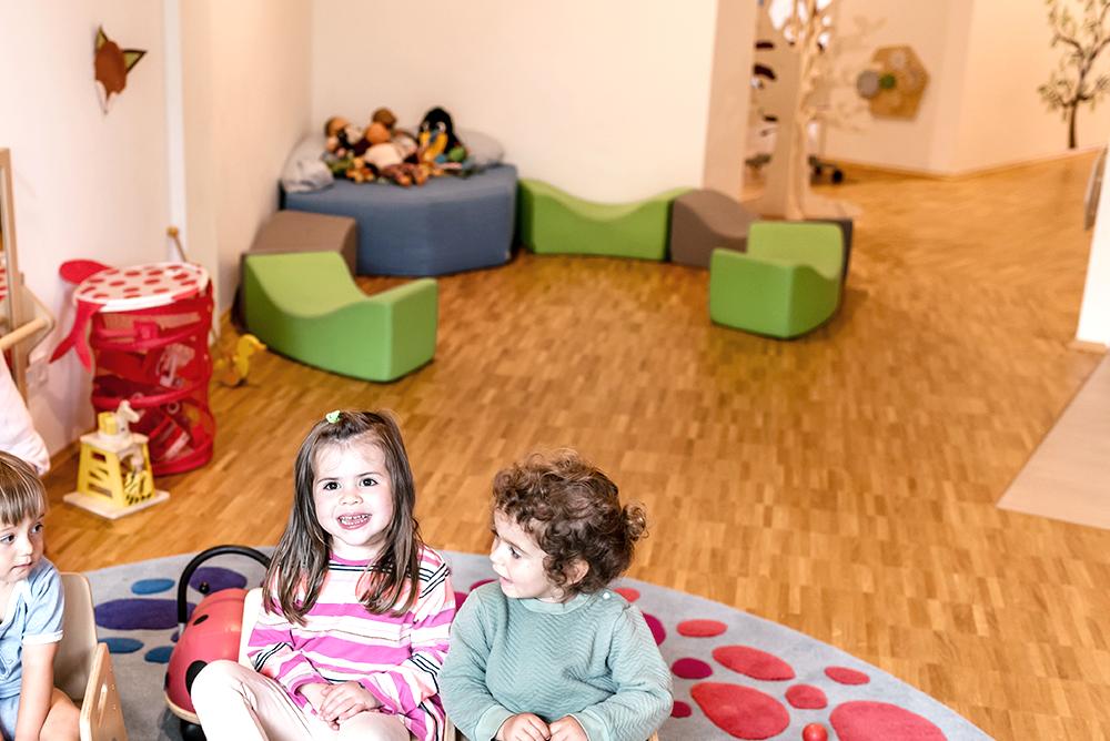 Lila Haus | Gruppenraum – Puppenecke